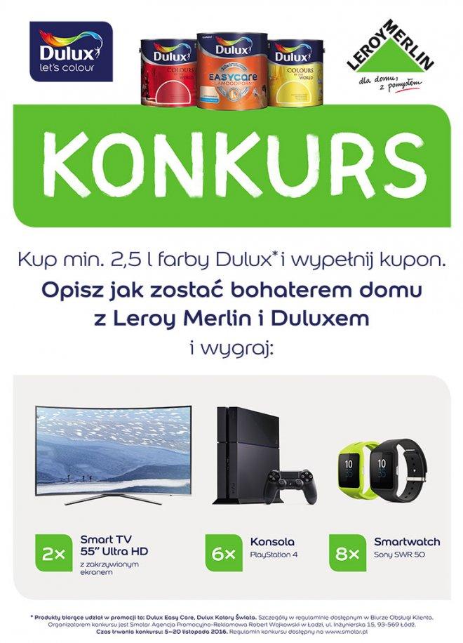 Konkurs Dulux W Leroy Merlin Smolar